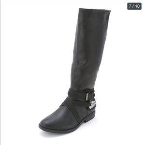 NWB Rampage Isadora Wide Calf Black MidCalf Riding